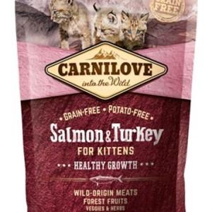 Carnilove salmon / turkey kittens