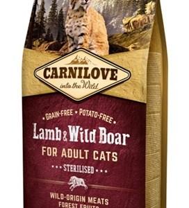 Carnilove lamb / wild boar sterilised