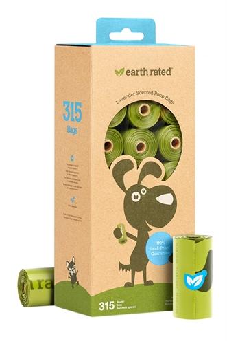 Earth rated poepzakjes geurloos
