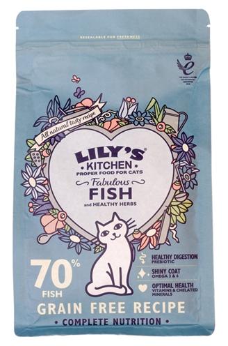 Lily's kitchen cat fisherman's feast fish