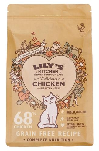 Lily's kitchen cat adult chicken casserole