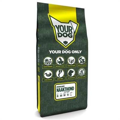 Yourdog amerikaanse naakthond volwassen