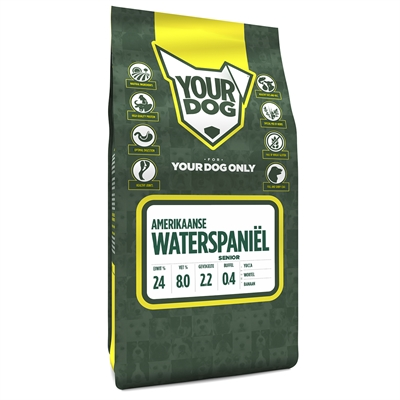 Yourdog amerikaanse waterspaniËl senior