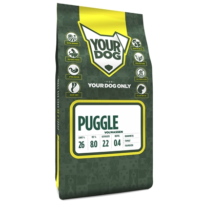 Yourdog puggle volwassen