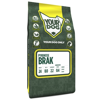 Yourdog pyreneese franse brak senior
