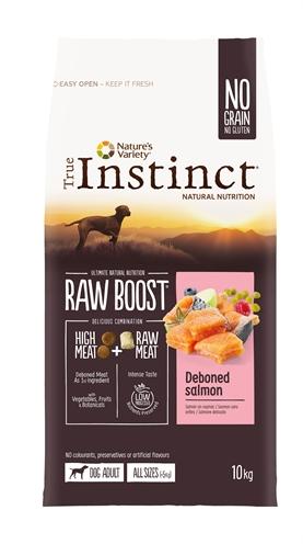 True instinct raw boost medium adult salmon