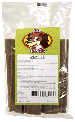 Petsnack lam/rijst jerkey's