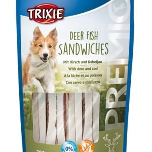 Trixie premio deer fish sandwiches