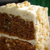 Worteltjestaart - Carrot Cake
