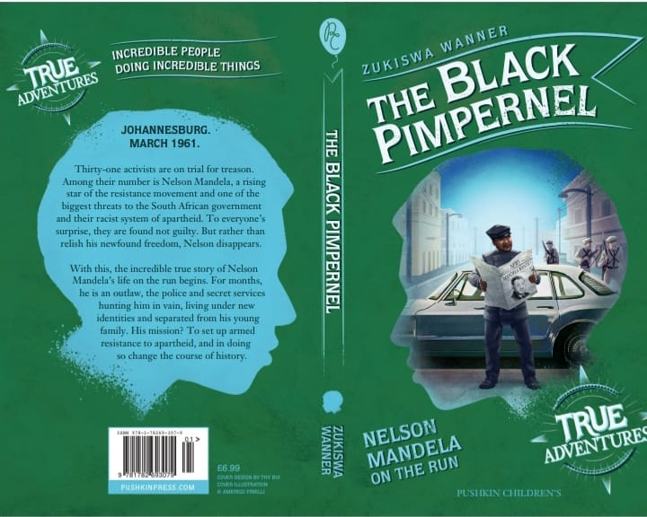 New Book Alert: The Black Pimpernel |Nelson Mandela on the Run