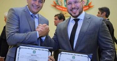 Wilson Lima e Carlos Almeida