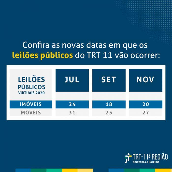 TRT11 Leiloes 2020