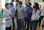 Wilson Lima visita hospital de Humaitá e reforça atenção ao interior durante a pandemia   Foto: Diego Peres