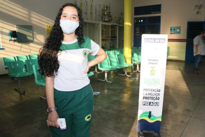 Aluna Jennyfer de Castro | Foto: Eduardo Cavalcante