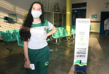 Aluna Jennyfer de Castro   Foto: Eduardo Cavalcante