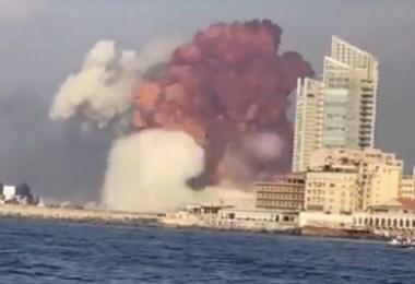 Beirute Explosão