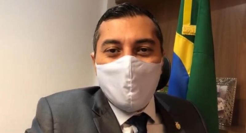 Governador do Amazonas Wilson Lima | Foto: SECOM