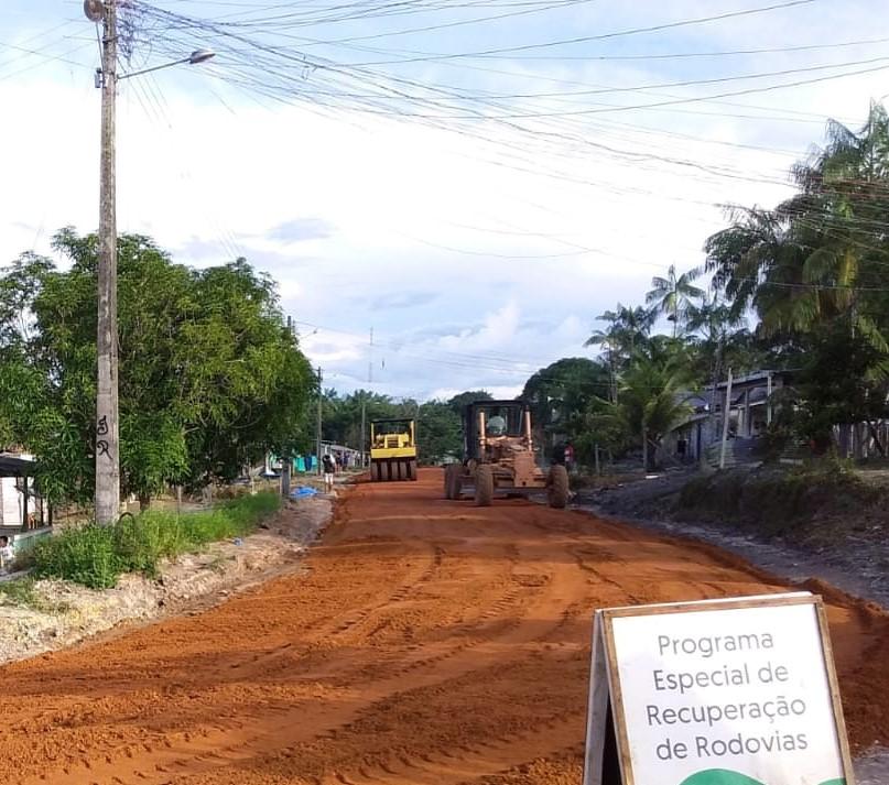 Governo do Amazonas | FOTOS: Divulgação/Seinfra