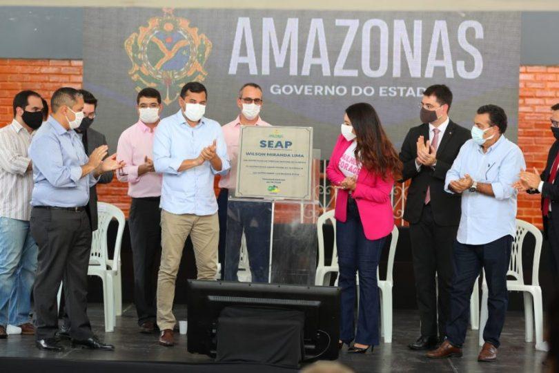 Wilson Lima SEAP Governo do Amazonas | Foto: Diego Peres e Tácio Melo/Secom
