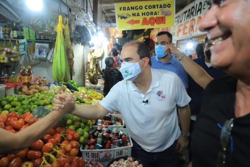 Eleições 2020 Ricardo Nicolau | Fotos: Marcelo Cadilhe / Leandro Castro