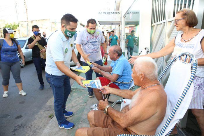 Eleições 2020 Alberto Neto Orsine Jr   Foto: Euzivaldo Queiroz e Gilson Mello