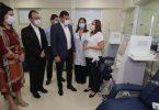 Governo do Amazonas hemodiálise | FOTOS: Diego Peres/Secom e Rodrigo Santos/SES-AM