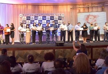 Cerimonia de entrega dos ganhadores. Foto: Carlos Vieira