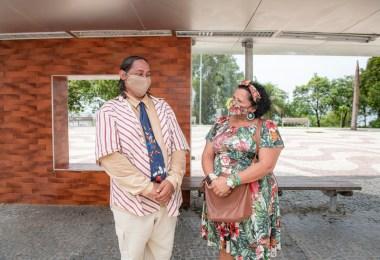Nova campanha - Maria e Raimundo | Fotos: Divulgação/Sec