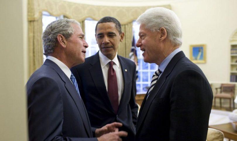 Presiente Americanos: Bill Clinton, Barack Obama, Bush | Foto: Internet