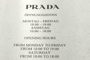 Drama, Baby, Drama! Die Ladenöffnungszeiten-Diskussion geht wieder los!