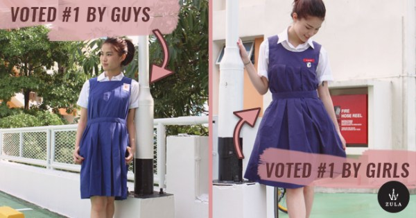 5 Most Popular Secondary School Girl Uniforms As Voted By Singaporeans
