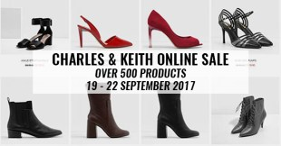 Score Up To 50% Off Charles & Keith Online Products With Free Delivery (September 2017)