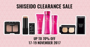 Score 70% Off NARS, ZA, And Various Japanese Cosmetics At The Shiseido Beauty Clearance Sale