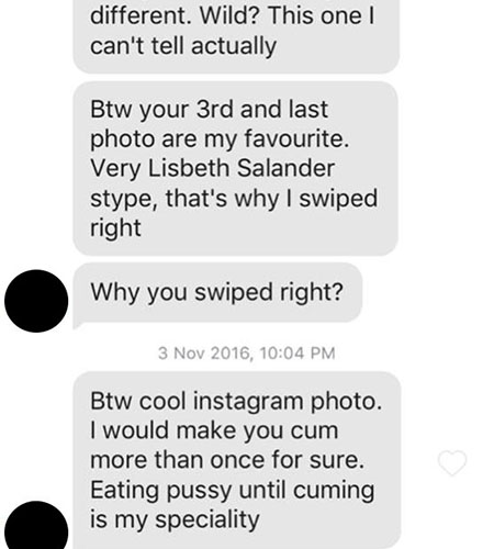 Online dating 3rd message