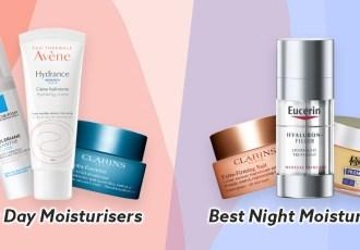 best day night moisturisers