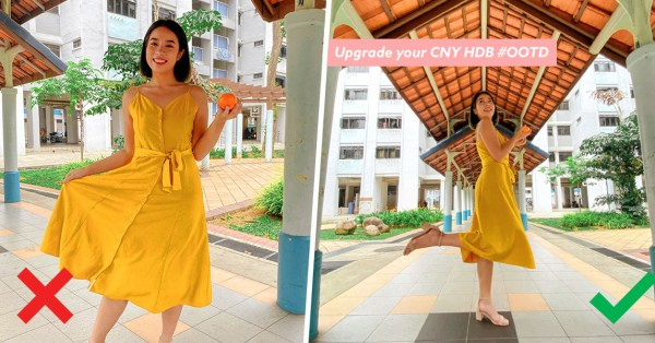 5 Easy Ways To Upgrade Your CNY #OOTD IG Shots At Common HDB Spots