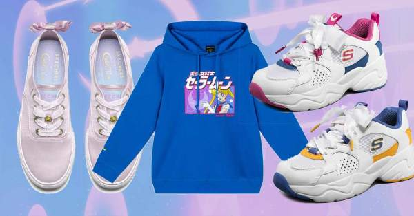 Upcoming Skechers x Sailor Moon Collection Lets You Relive Your Schoolgirl Days In Style