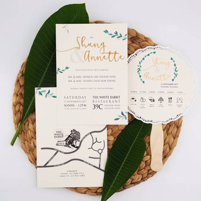 Wedding Invitation Cards From Bespoke