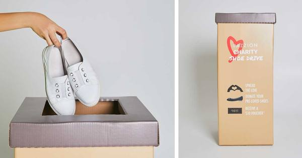 Donate Your Used Shoes Through Pazzion To Benefit Low-Income Women In Singapore From 1 To 30 April 2020