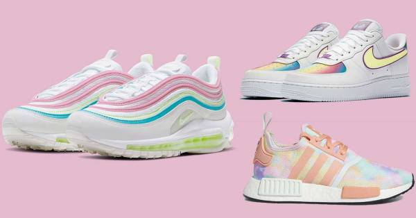 Pastel Sneakers From Nike & Adidas Are Perfect To Nail That VSCO Girl Aesthetic