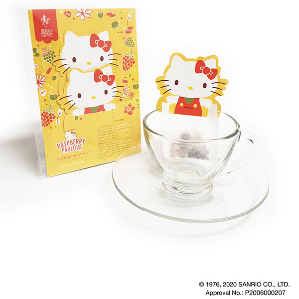 hello kitty tea raspberry