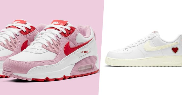 Nike Is Releasing 2 Limited-Edition Sneakers For Valentine's Day 2021 So You Can Wear Your Heart On Your Feet