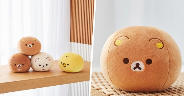These Rilakkuma Plushies Are Actually Workout Weights So You Can Lift The Bear As It Lifts Your Spirits
