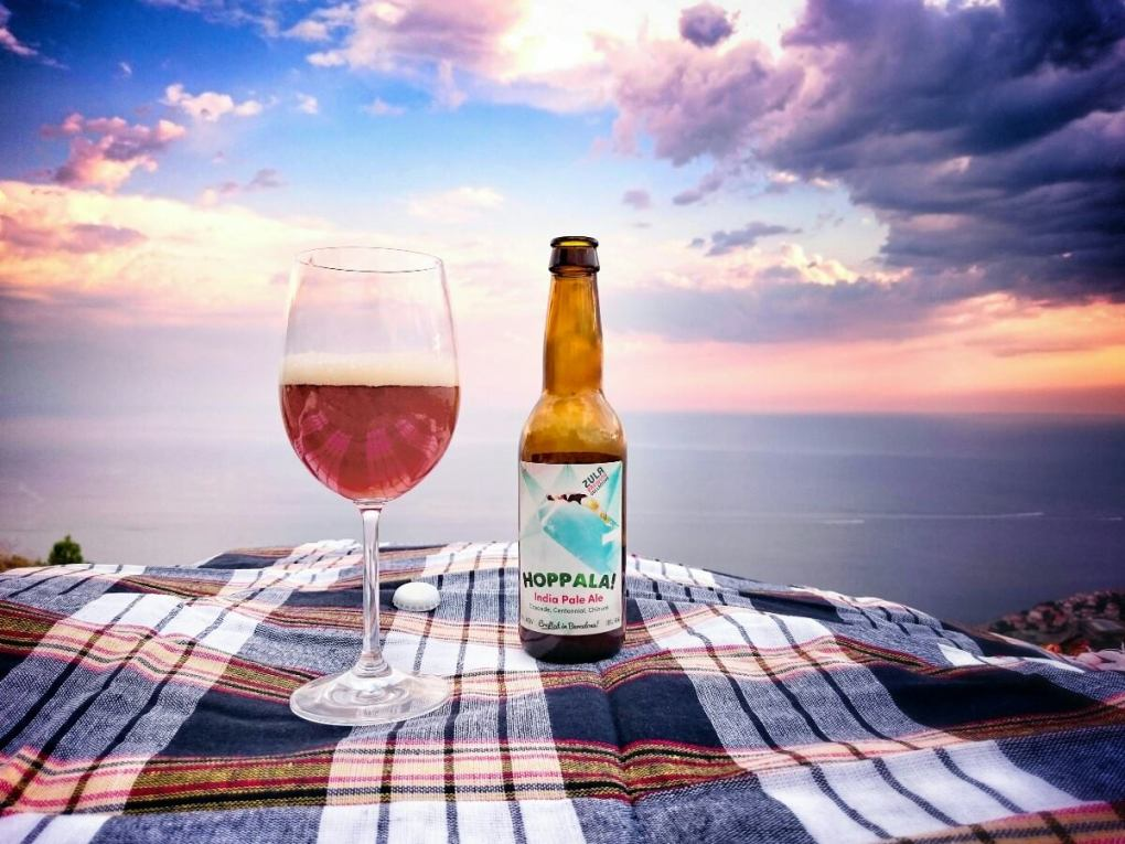 Hoppala - cerveza atardecer