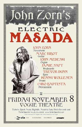Electric Masada 11.08.2002 at Vogue Theatre