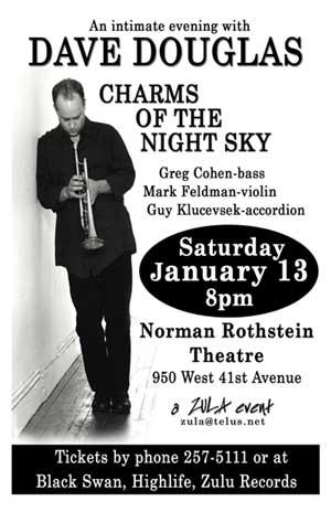 Dave Douglas' Charms of the Night Sky