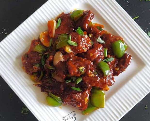 Chilli Fish recipe. Schezwan Chilli Fish
