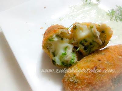 Chicken Cheese Kabab/Chicken Cheese Croquettes