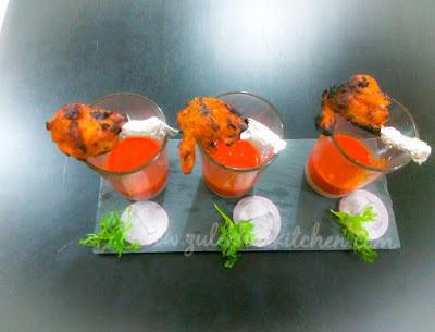 Tandoori Chicken Lollipop