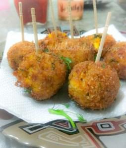 cheese corn balls